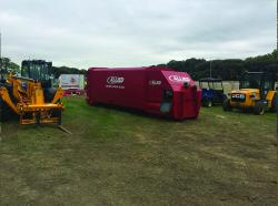 Large Red Commercial Skip