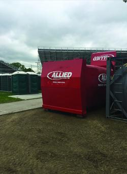 Allied Commercial skip