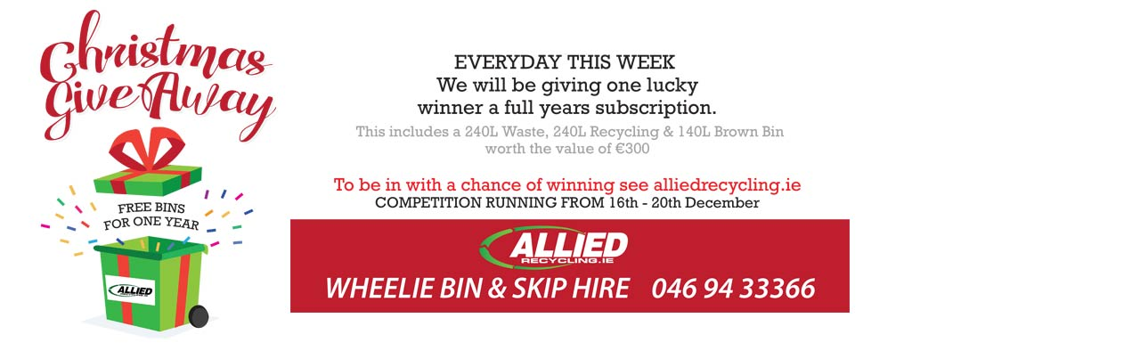 Allied Recylcing Christmas GiveAway