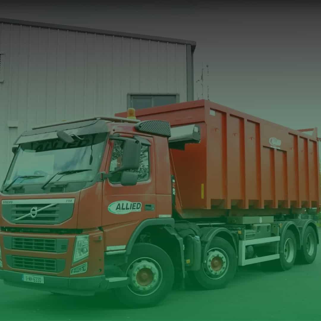 Red Bin Lorry