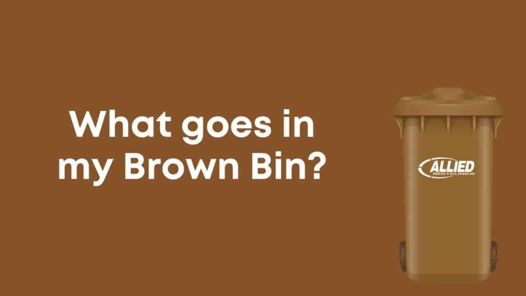 Allied Brown Bin