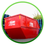 Red Commercial skip