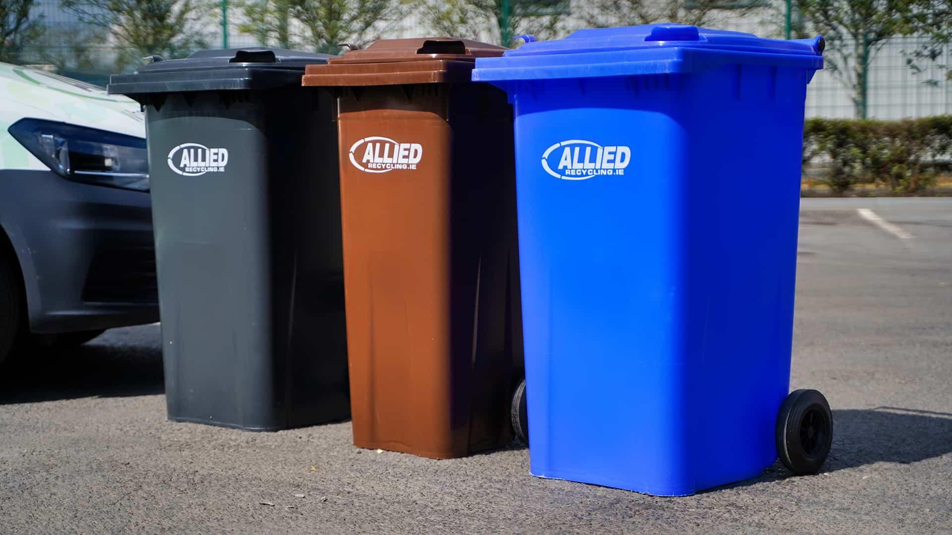 allied bins